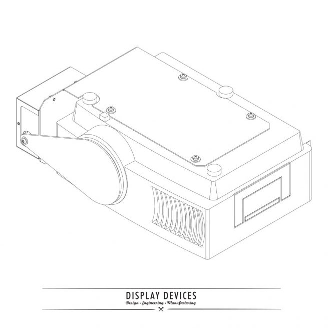 Display Devices LS-100 MOTORIZED LENS SHUTTER